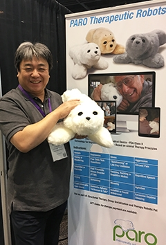Technology for Patients: Purring Robots, Digital Data
